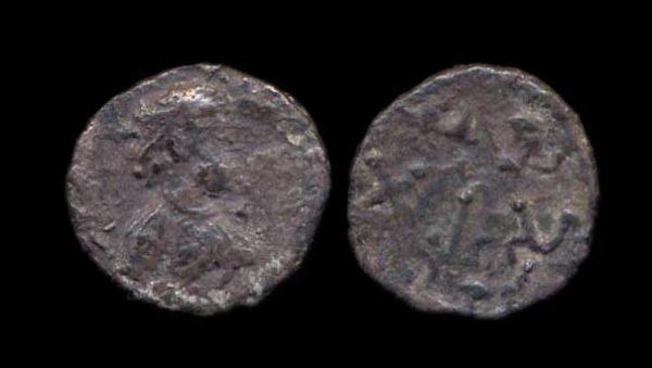 PARATA RAJAS, Yolamira, c. 100 AD, silver 1/4 drachm
