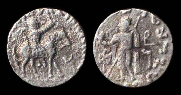 SCYTHIAN, Azes, c. 58-20 BC, silver tetradrachm