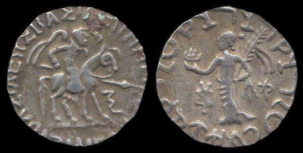 SCYTHIAN, Azilises, 57-c.35 BC, silver tetradrachm