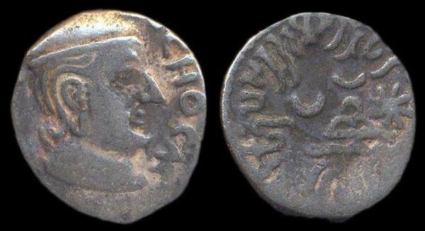 WESTERN KSHATRAPAS, Rudradaman, c. 130-150 AD, silver drachm