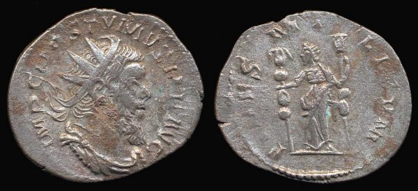 ROMAN EMPIRE, Postumus, 259-268 AD, billon antoninianius