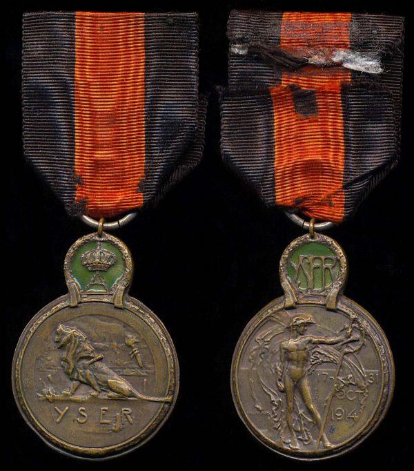 BELGIUM Yser Medal
