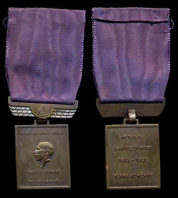 BRASIL Santos Dumont Medal of Merit bronze