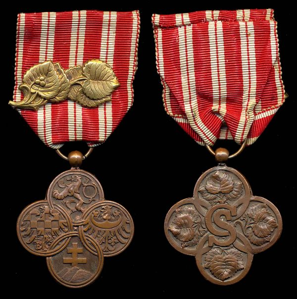 CZECHOSLOVAKIA War Cross (1918)