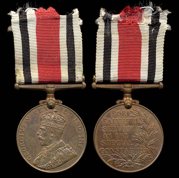 GREAT BRITAIN Faithful Service in the Special Constabulary Medal