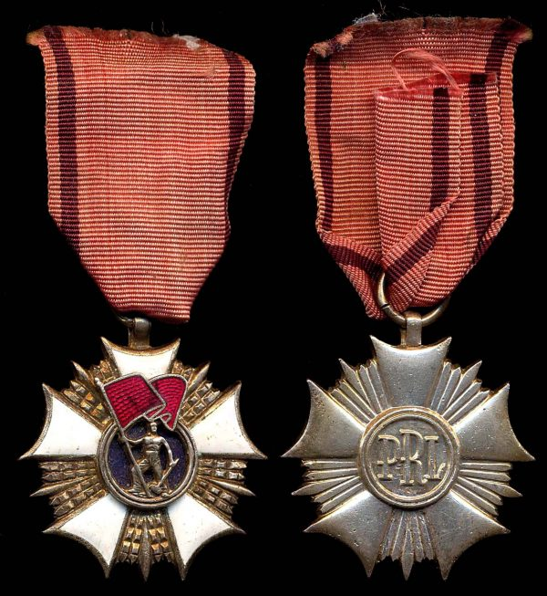 POLAND Order of the Banner of Labor Second Class