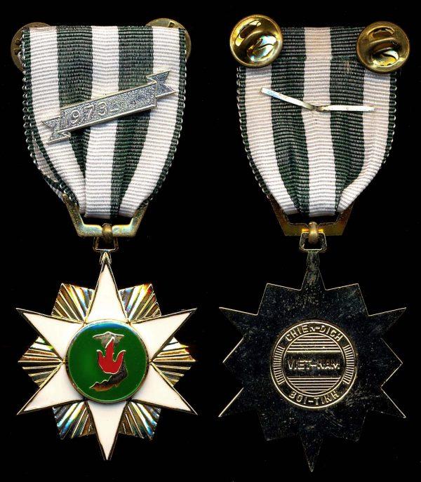 SOUTH VIETNAM Republic of Vietnam Campaign Medal
