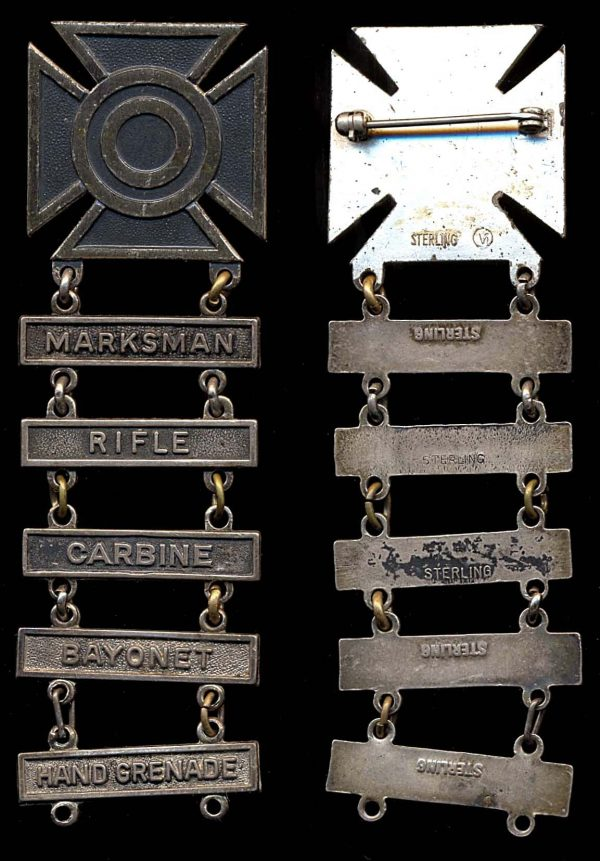 USA Marksman Badge with 5 qualifications