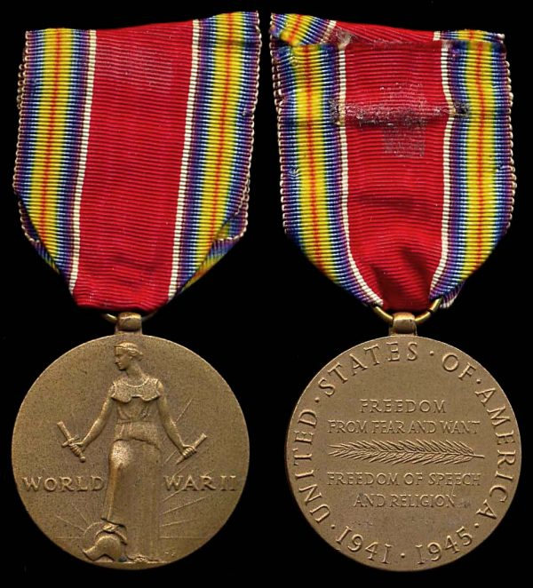 USA World War II Victory Medal