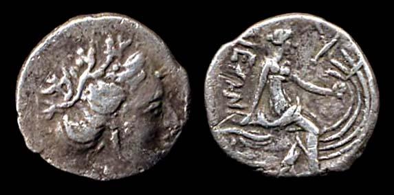 EUBOIA, HISTIAIA, diobol, 3rd century BC