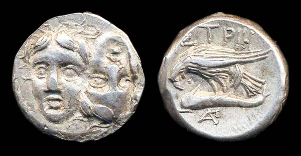 THRACE, ISTROS, stater, 400-350 BC