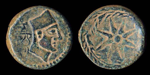 SPAIN, MALACA, bronze, 2nd-1st century BC