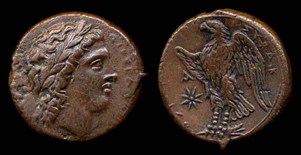 SICILY, SYRACUSE, Hiketas, 288-279 BC, bronze