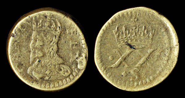 GREAT BRITAIN, coin weight 1625-49