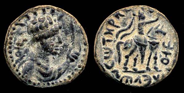 KUSHAN, Soter Megas, circa 55-105 AD, tetradrachm