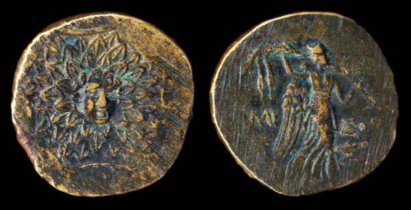 PONTOS, AMISOS, bronze minor, 2nd-1st century BC