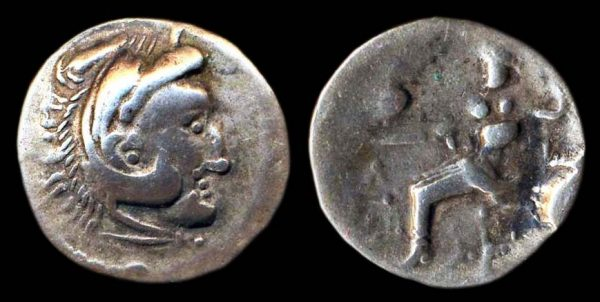 EASTERN CELTS, DACIA, silver drachm, 2nd - 1st century BC