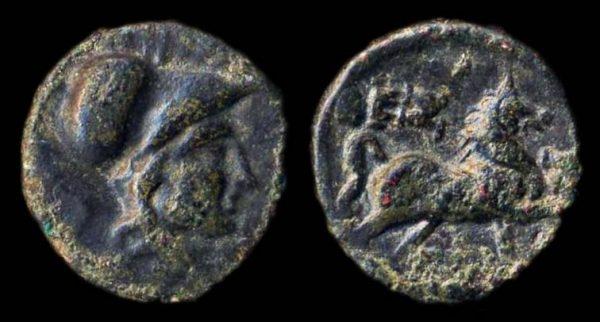 THESSALY, THESSALIAN LEAGUE, bronze minor, 196-146 BC