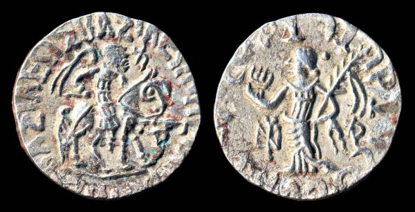 SCYTHIAN, Azilises, 57-circa 35 BC, silver tetradrachm
