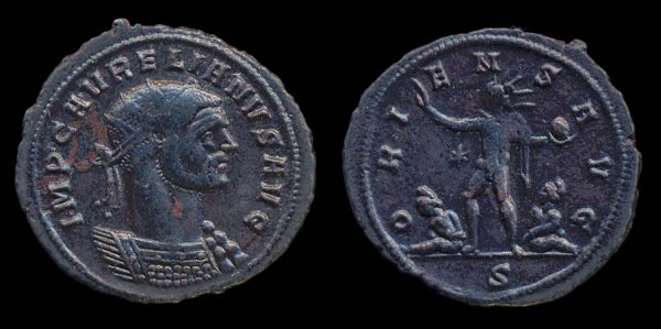 ROMAN EMPIRE, Aurelian, 270-275 AD, billon denarius