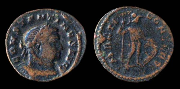ROMAN EMPIRE, Constantine I, 307-337 AD, billon follis, Treveri mint