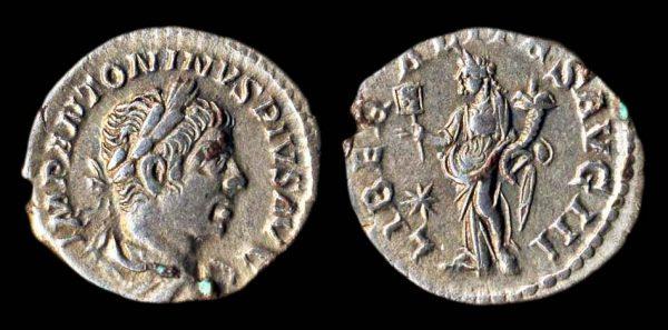 ROMAN EMPIRE, Elagabalus, 218-222 AD, silver denarius
