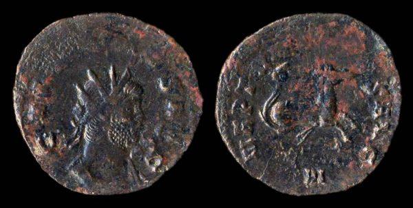 ROMAN EMPIRE, Gallienus, 253-268 AD, billon antoninianius