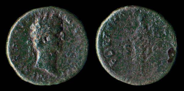 ROMAN EMPIRE, Nerva, 96-98 AD, bronze as