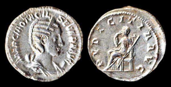 ROMAN EMPIRE, Otacilia Severa, wife of Philip I, 244-249 AD, silver antoninianius