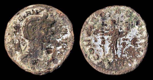 ROMAN EMPIRE, Severina, wife of Aurelian, 270-275 AD, billon antoninianius