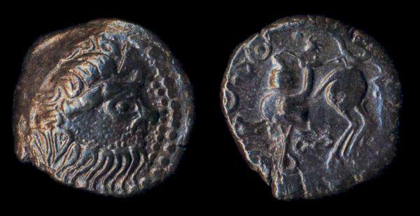 DANUBIAN CELTS, billon tetradrachm, 1st century BC