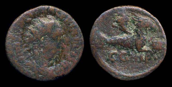 MYSIA, PARIUM, Valerian I, 253-260 AD, bronze