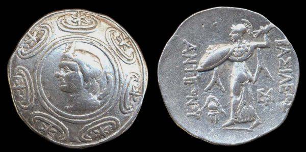 MAKEDONIAN KINGDOM, Antigonas Gonatas, 277-239 BC, silver tetradrachm