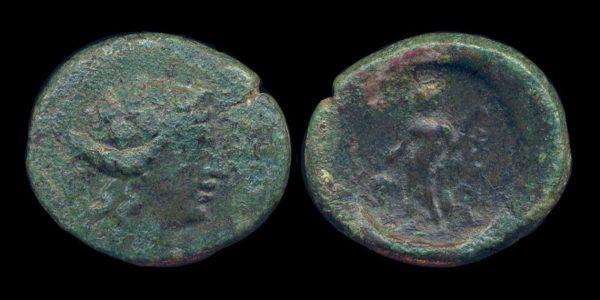 Maroneia bronze coin