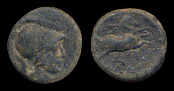 THESSALY, THESSALIAN LEAGUE, bronze, 196-146 BC