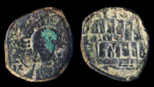 BYZANTINE, Anonymous, bronze follis, circa 1025-28 AD