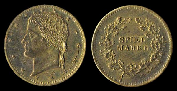 GERMANY, Lauer spielmark, Napoleon portrait