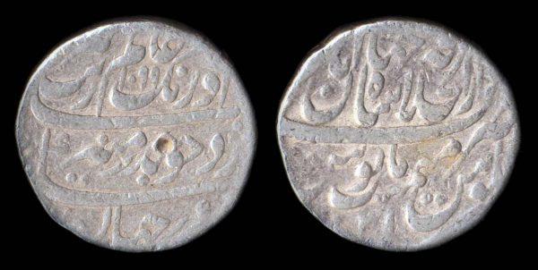 MUGHAL, Aurangzeb, 1658-1707, silver, rupee, 1099 AH (1688 AD) year 31, Shahjahanabad mint