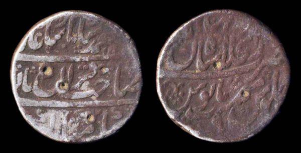 INDIA, MUGHAL, Muhammad Shah, rupee, 1136 year 6 (1724 AD), Shahjahanabad mint