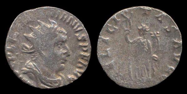 ROMAN EMPIRE, Valerian I, 253-60 AD, billon antoninianius