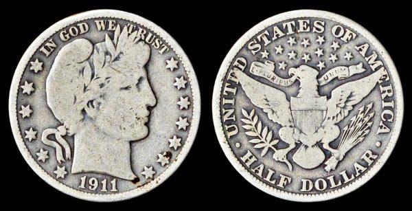 USA, 50 cents, 1911