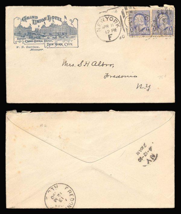 USA antique postal cover