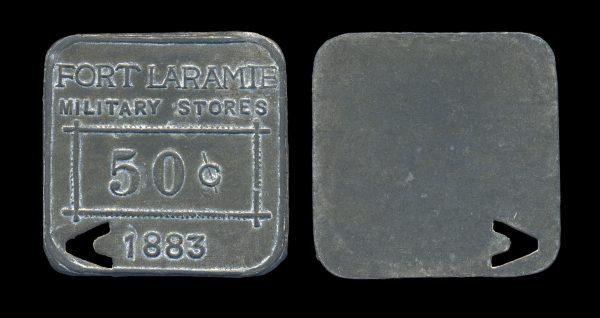 USA, WYOMING, fantasy Fort Laramie token