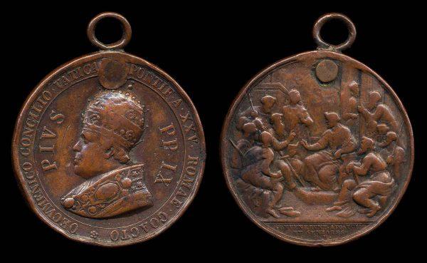 Papal Ecumenical council medal