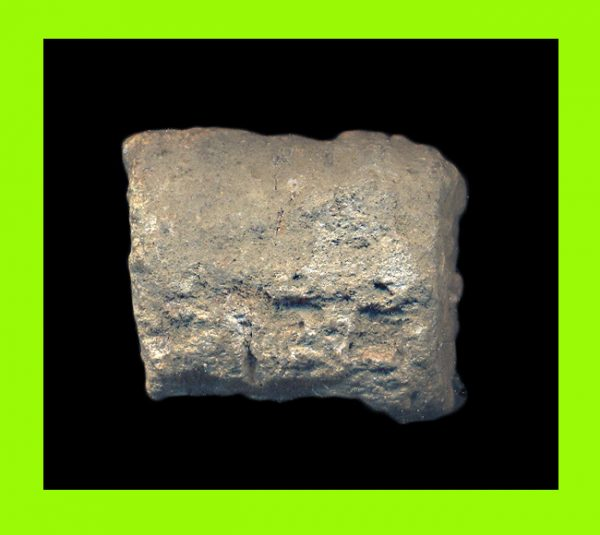 VIETNAM, MINH MANG THONG BAO, 1820-41 AD, stack of sea salvaged zinc cash from an Indonesian shipwreck