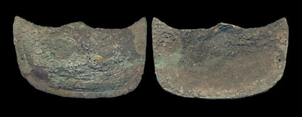 ANCIENT CHINESE BRONZE PLAQUE