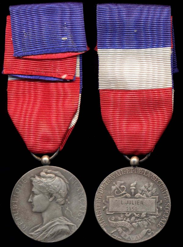 FRANCE Medal of Honor of Ministry of Commerce & Industry