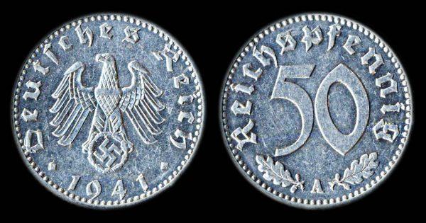 GERMANY NAZI 5 pfennig 1940 A