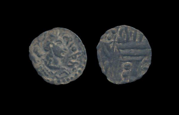 HEPHTHALITE Napki Malka type quarter drachm circa 475-525 AD