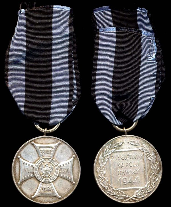 POLAND Medal of Merit on the Field of Glory 1944 Second Class